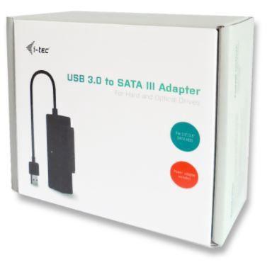 i-Tec Adapter USB 3.0 / SATA Black