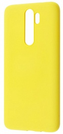 Evelatus Soft Back Case For Xiaomi Redmi Note 8 Pro Yellow