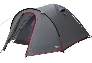 Trīsvietīga telts High Peak Nevada 3 10202, pelēka