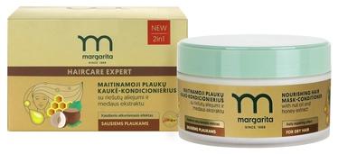 MARGARITA Barojoša matu maska-kondicionieris ar riekstu eļļu un medus ekstraktu 250ml