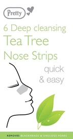 Pretty Smooth Tea Tree Nose Pore Strips 6pcs
