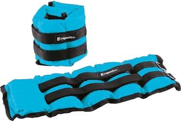 inSPORTline BlueWeight Adjustable Weights 2x2kg Blue