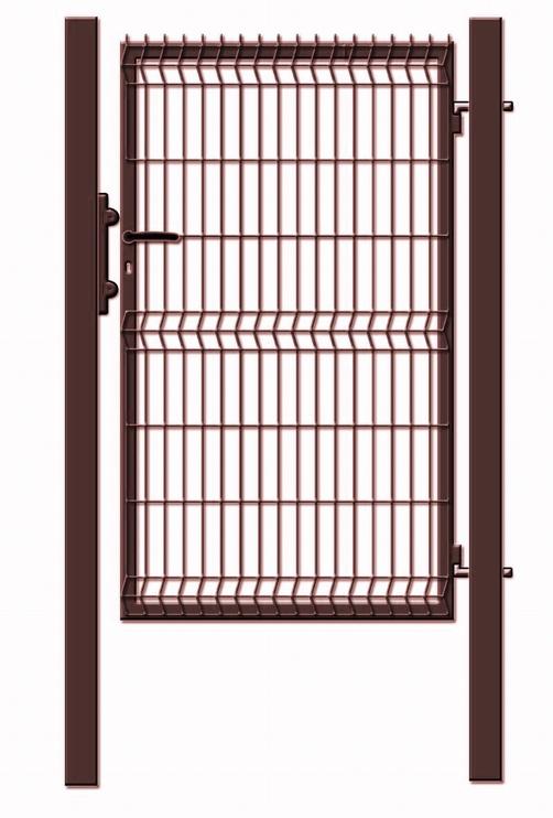 Garden Center Gate 1000x1530mm Brown
