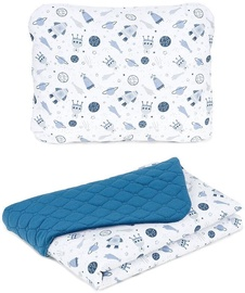 MamoTato Baby Blanket And Pillow Cosmos