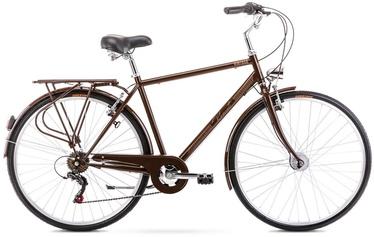 """Dviratis Romet Vintage M Brown 2021, 18"""", 28"""""""