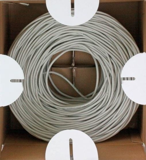 Techly Cable UTP Cat6 Grey 305m