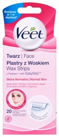 Veet Face Wax Strips Normal 20pcs