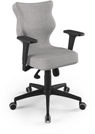 Entelo Perto Black Office Chair DC18 Gray