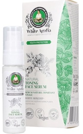 White Agafia Youth Protection Natural Toning Face Serum 30ml