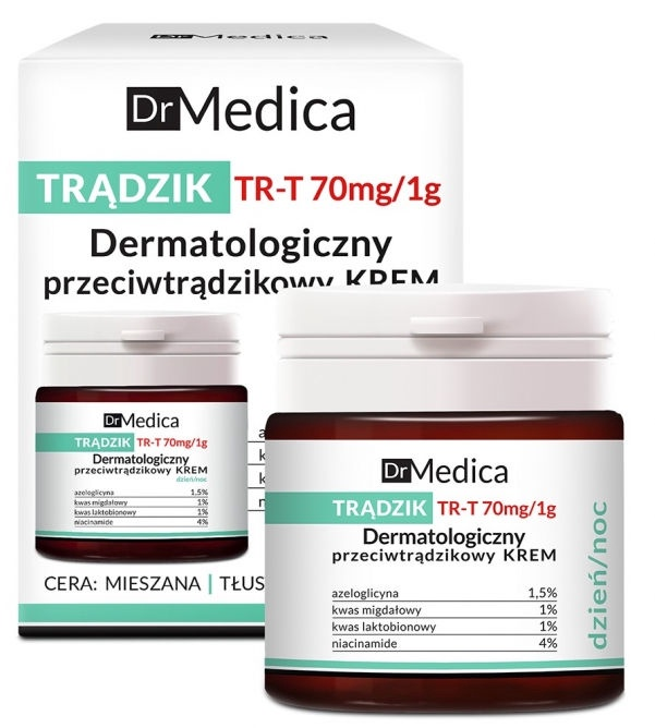 Bielenda Dr. Medica Acne Dermatological Anti-Acne Cream Day & Night 50ml