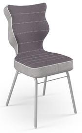 Детский стул Entelo Solo CR07, серый, 340 мм x 775 мм