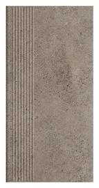 Klinkerinės pakopinės plytelės Stylo Grafit, 30 x 60 cm.
