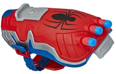 Žaislinis ginklas Hasbro Marvel Avengers Nerf Power Moves Spider-Man Blaster E7328