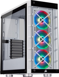 Corsair iCue 465X RGB ATX Mid-Tower White
