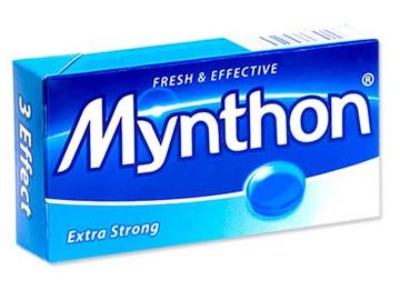 Pastilės Mynthon Extra Strong, 34 g