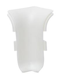 Grīdlīstes iekšējais stūris NGTW00, balts