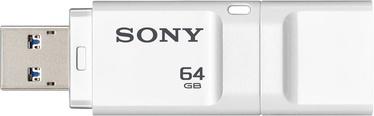 Sony 64GB MicroVault Entry USB 3.0 White