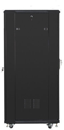 "Lanberg Rack Cabinet 19"" Free-Standing 32U/600x800 Self-Assembly Flat Pack Black"