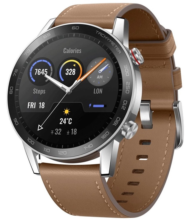 Išmanusis laikrodis Huawei Honor MagicWatch 2 46mm Flax Brown