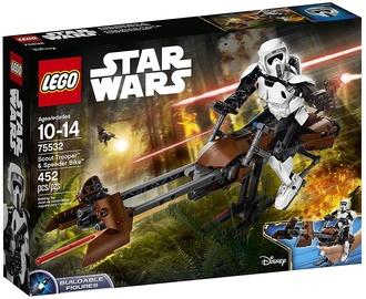 LEGO Star Wars Scout Trooper & Speeder Bike 75532