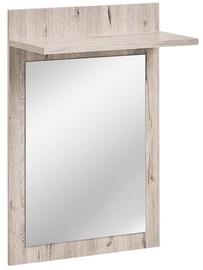 Peegel ASM Gustavo Type E Wellington Oak, riputatav, 60x90 cm