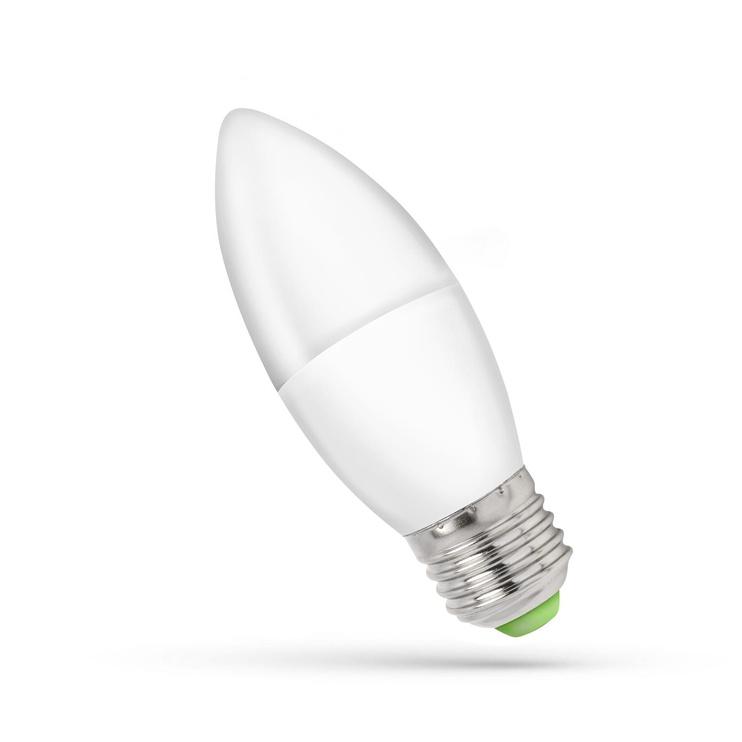 LED LEMPA SPECT B35 E27 6W 3000K 480 MAT