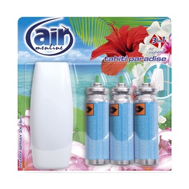 Air Menline Air Freshener Spray And Refill 3x15ml Tahiti Paradise