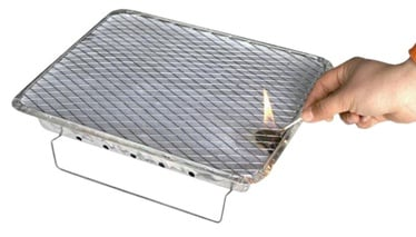 Besk Disposable Grill 27 x 21 x 5cm