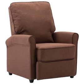 Tugitool VLX TV Recliner Chair Fabric, pruun, 70 cm x 88 cm x 96 cm