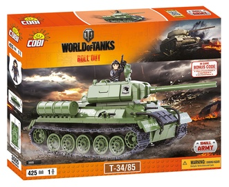 Cobi Small Army World Of Tanks T-34/85 3005