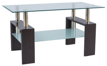 Kafijas galdiņš Signal Meble Modern Lisa III Venge, 1100x600x600 mm