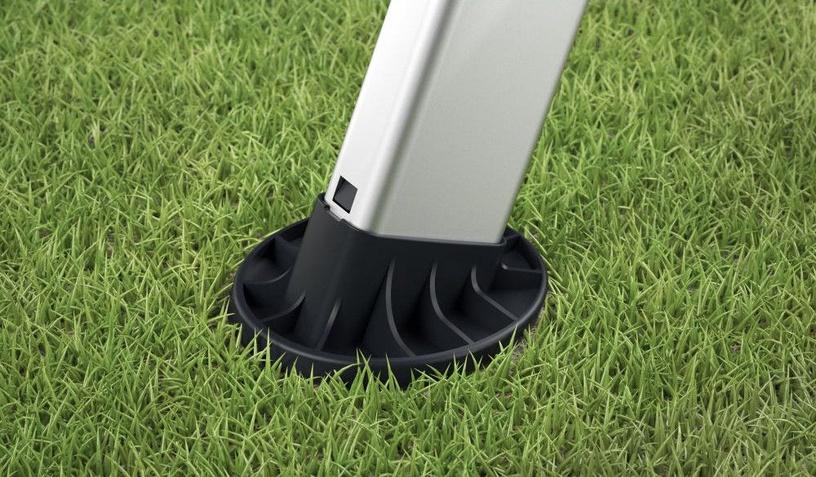 Hailo Replaceable Feet EasyClix Garden M