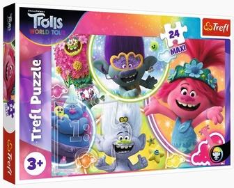 Trefl Maxi Puzzle Trolls World Tour 24pcs 14318