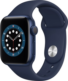 Išmanusis laikrodis Apple Watch Series 6 GPS 40mm Blue Aluminum Deep Navy Sport Band