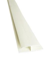 SAVIENOTĀJPROFILS PVC 3M BALTS IEP.40GB