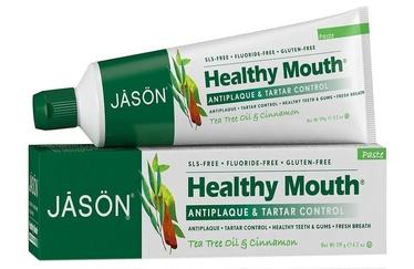 Dantų pasta Jason Organic Tartar Control Tea Tree & Cinnamon 119g
