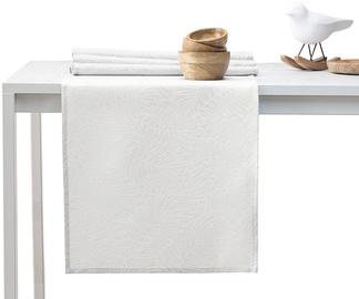 AmeliaHome Gaia AH/HMD Tablecloth Cream Set 115x250/35x250cm 2pcs