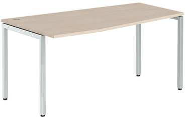 Skyland Ergonomic Table XSCT 169L Oak Tiara/Aluminum