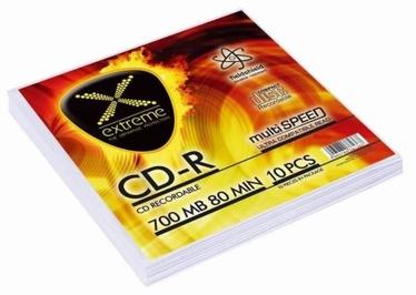 Extreme CD-R 700MB / 80min 52x 10pcs