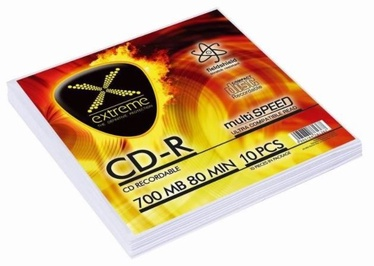 Extreme CD-R 700MB / 80min 52x 10pcs