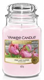 Свеча Yankee Candle Classic Large Jar 623g Pink Lady Slipper, 150 час