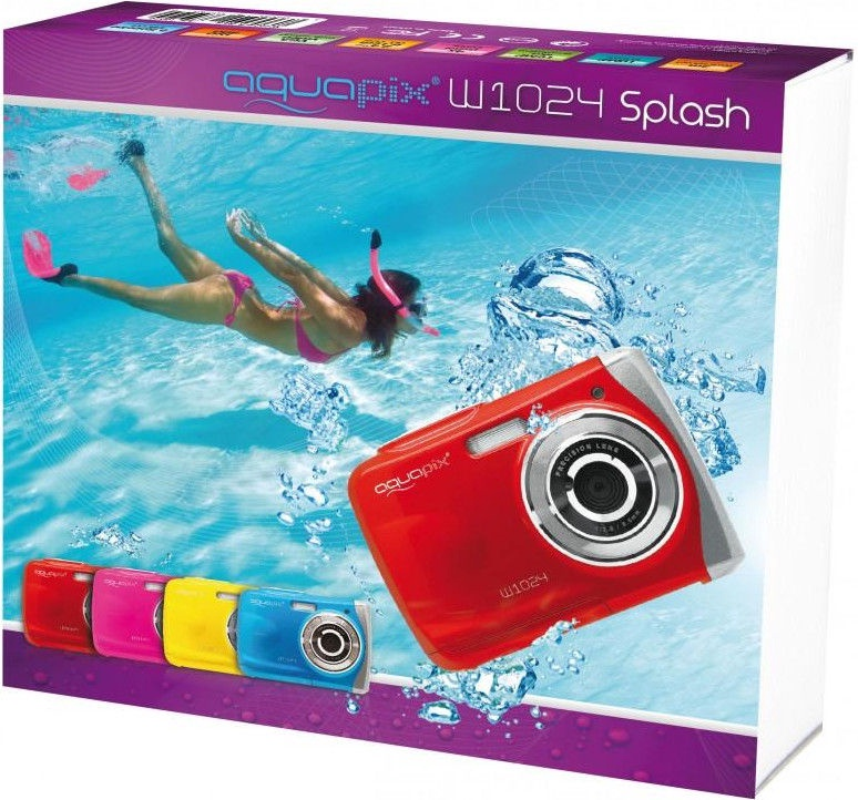 Easypix AquaPix W1024-R Splash Red