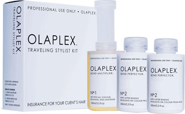 Комплект OLAPLEX Traveling Stylist Kit NR.1 100ml + NR.2 100ml x2