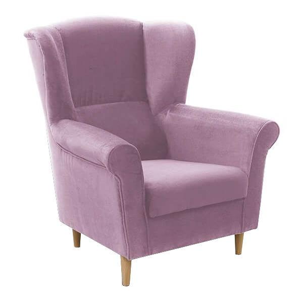 Fotelis Idzczak Meble Loft 1 Pink, 88x80x105 cm