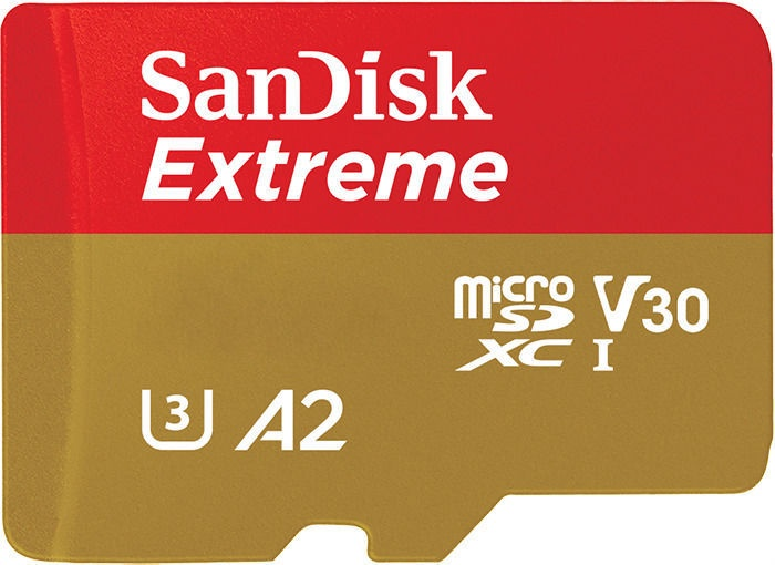 SanDisk Extreme 400GB microSDXC UHS-I Class 10 Series w/ Adapter