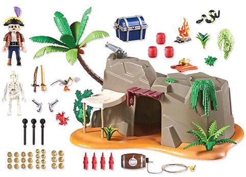 Playmobil 4797 Super 4 Pirate Cave