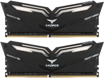 Team Group T-Force Nighthawk Red LED 16GB 3200MHz CL16 DDR4 KIT OF 2 THRD416G3200HC16CDC01