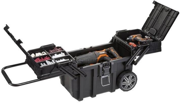 Коробка Keter Cantilever Mobile Cart Job Box