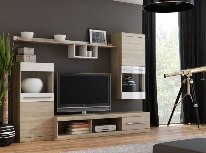 Cama Meble Wall Unit Nick Sonoma Oak