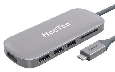 HooToo USB-C USB 3.0 HDMI SD Hub Space Grey